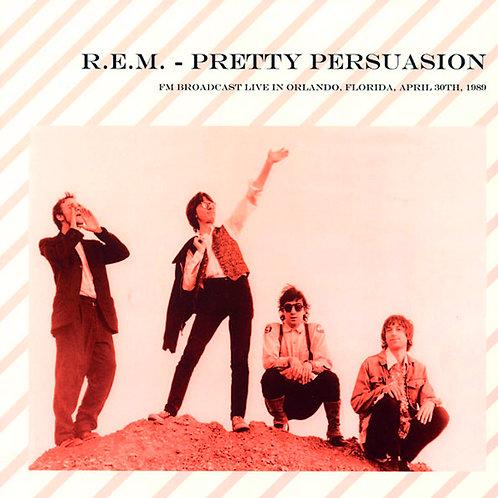 REM LP Pretty Persuasion (Rare Live 1989)