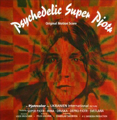 VARIOUS CD Psychedelic Super Pjotr - Original Motion Score