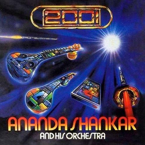 ANANDA SHANKAR AND HIS ORCHESTRA CD 2001