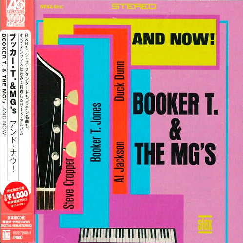 BOOKER T. & THE MG'S CD And Now! (Japan Obi)