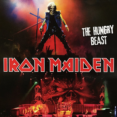 IRON MAIDEN LP The Hungry Beast (Yellow Coloured Vinyl)