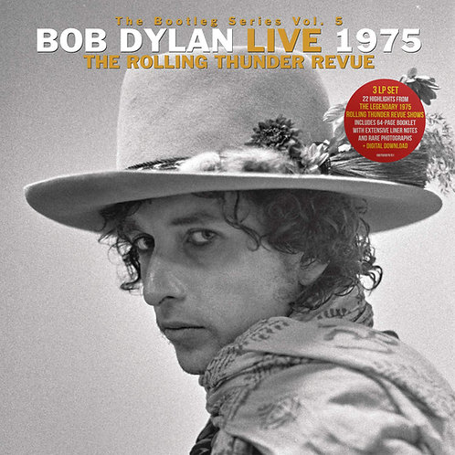 BOB DYLAN BOX SET 3xLP The Bootleg Series Volumes 5  Rolling Thunder Revue
