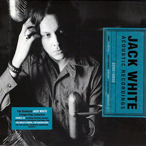 JACK WHITE 2xCD Acoustic Recordings 1998-2016
