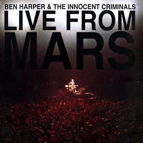 BEN HARPER 2xCD Live From Mars