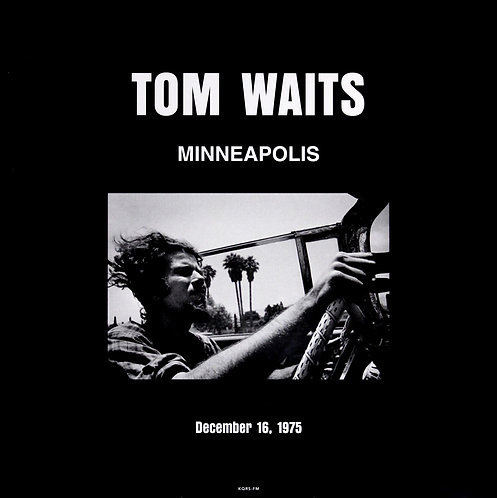 TOM WAITS 2xLP Live In Minneapolis December 16, 1975