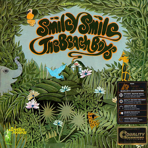 BEACH BOYS LP Smiley Smile (200 grams Analogue Productions Stereo)