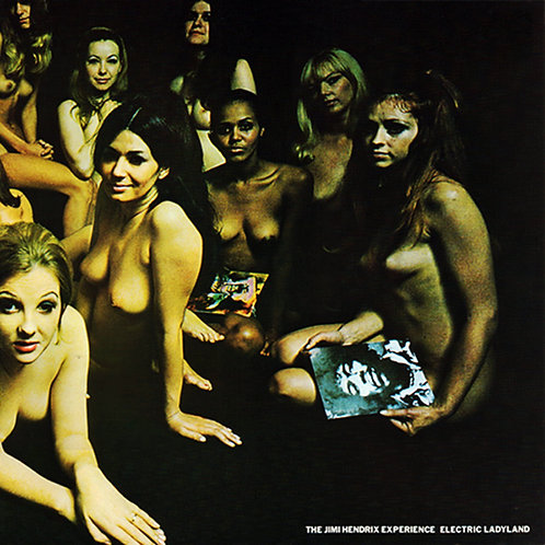 JIMI HENDRIX 2xLP Electric Ladyland (Naked Ladies Cover)