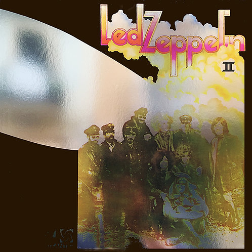 LED ZEPPELIN LP II (Megarare Silver Mirror Cover)