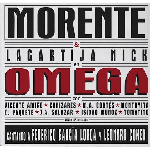 MORENTE & LAGARTIJA NICK 2xCD+DVD+BOOK Omega (Superdeluxe Edition)