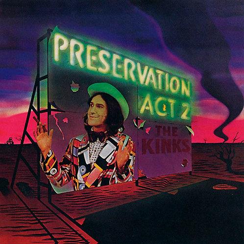 THE KINKS CD Preservation Act 2 + Bonus Tracks