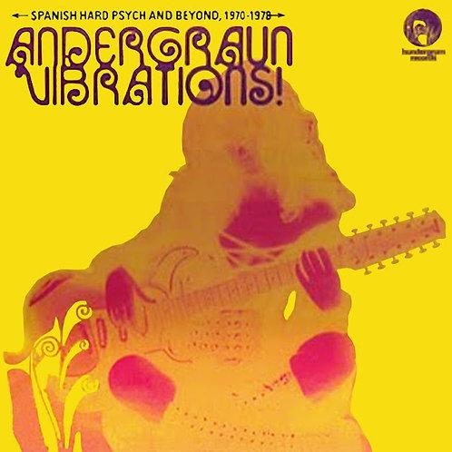 VARIOS CD Andergraun Vibrations! Spanish Hard Psych And Beyond 1970-1978