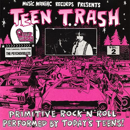 THE PSYCHOVIOLETS CD Teen Trash Volume 2 (USA)