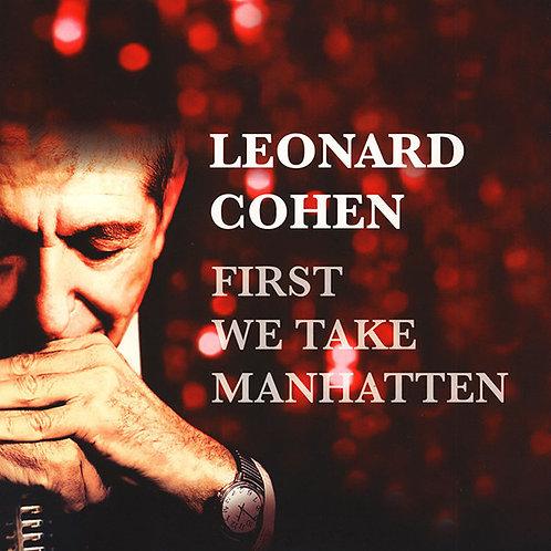 LEONARD COHEN LP First We Take Manhatten