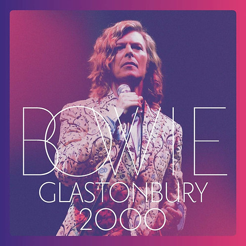 DAVID BOWIE 3xLP Glastonbury 2000