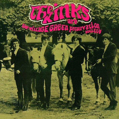 KINKS LP Are The Village Green Preservation Society (New Zealand Rare Cover)