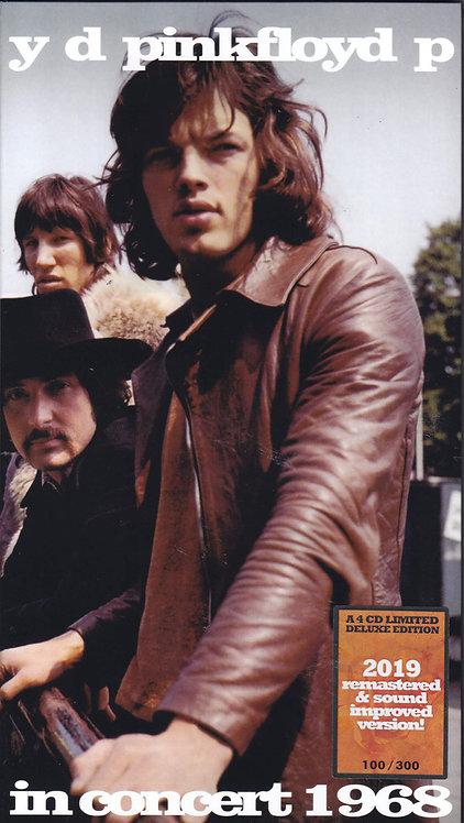 PINK FLOYD BOX SET 4xCD In Concert 1968 (Longbox)