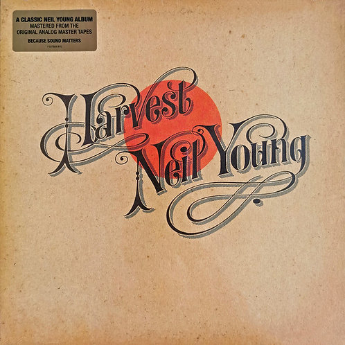 NEIL YOUNG LP Harvest (Mastered From The Original Analog Master Tapes)