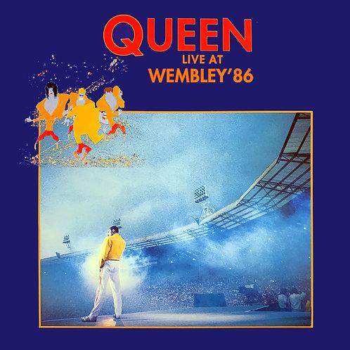 QUEEN 2xLP Live At Wembley '86