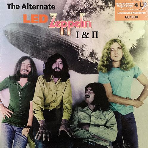 LED ZEPPELIN 4xLP+3xCD The Alternate Led Zeppelin I & II (Coloured Vinyls)