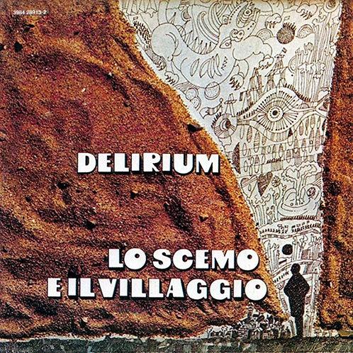 DELIRIUM LP Lo scemo e il villaggio (1972) Prog