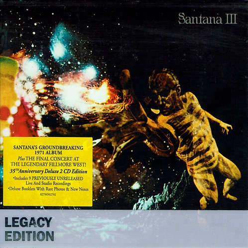 SANTANA 2xCD Santana III (Legacy Edition Deluxe)