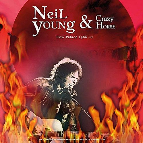 NEIL YOUNG LP Cow Palace 1986 Live