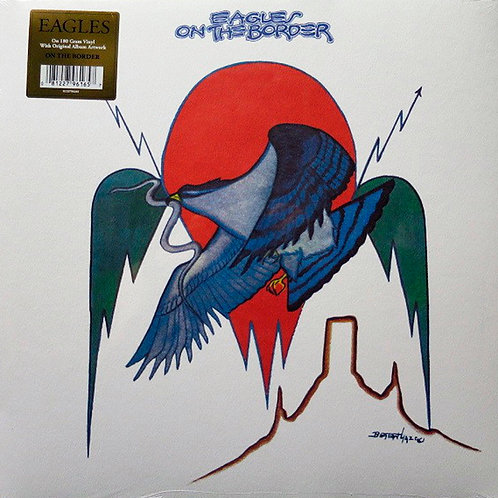 EAGLES LP On The Border