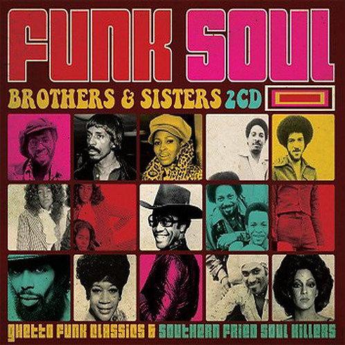 VARIOS 2xCD Funk Soul - Brothers & Sisters