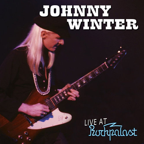 JOHNNY WINTER LP Live At Rockpalast
