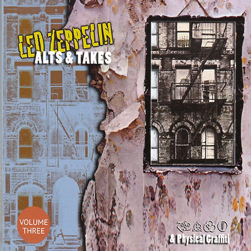 LED ZEPPELIN CD Alts & Takes - Led Zeppelin I V & Physical Graffiti