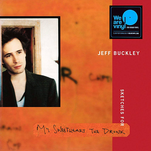 JEFF BUCKLEY 3xLP Sketches For My Sweetheart The Drunk