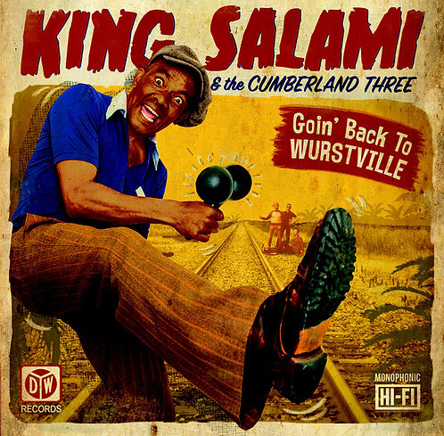 KING SALAMI & THE CUMBERLAND TREE LP Goin' Back To Wurstville