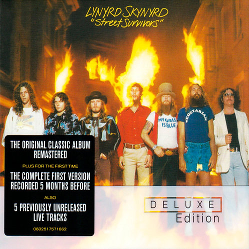 LYNYRD SKNYRD 2xCD Street Survivors (Deluxe Edition)