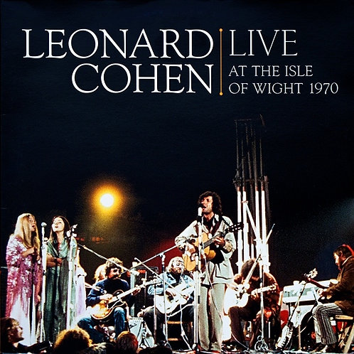 LEONARD COHEN 2xLP Live At The Isle Of Wight 1970