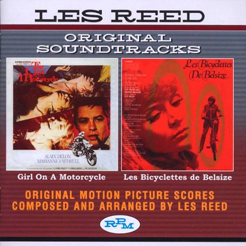 OST CD Girl On A Motorcycle & Les Bicyclettes De Belsize
