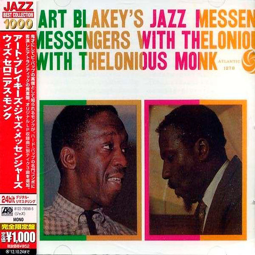 ART BLAKEY'S JAZZ MESSENGERS CD With Thelonious Monk