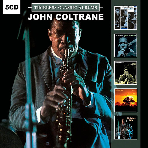 JOHN COLTRANE BOX SET 5xCD Timeless Classic Albums