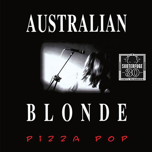 AUSTRALIAN BLONDE LP Pizza Pop (White Coloured Vinyl)