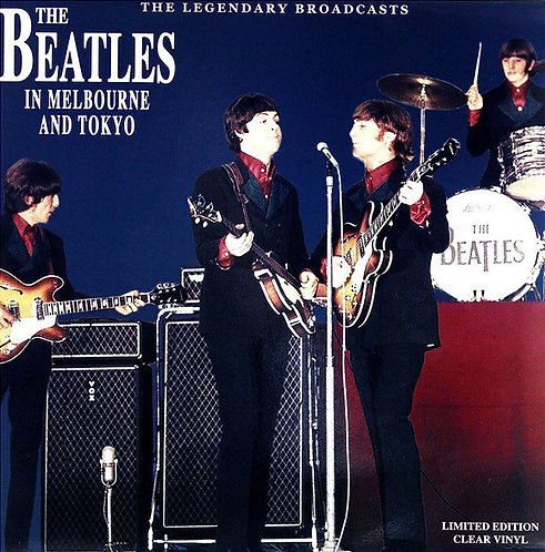 BEATLES LP In Melbourne And Tokyo (Clear Coloured Vinyl)
