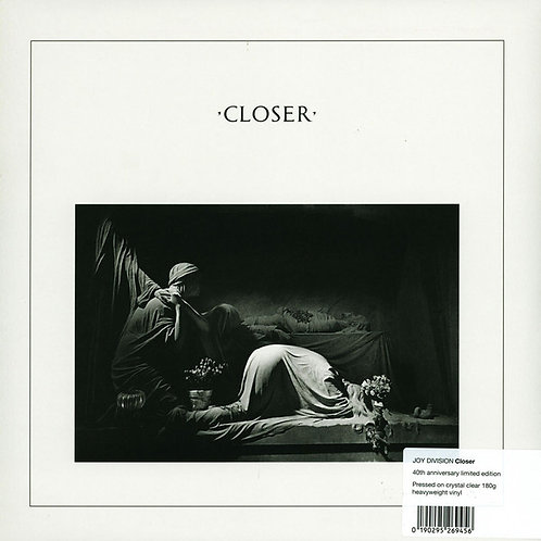 JOY DIVISION LP Closer (40th Anniversary Edition Crystal Clear Vinyl)