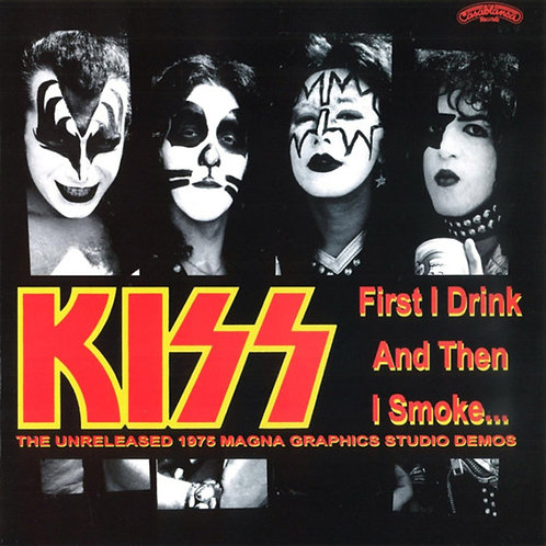KISS LP First I Drink And Then I Smoke (Red Coloured Vinyl)