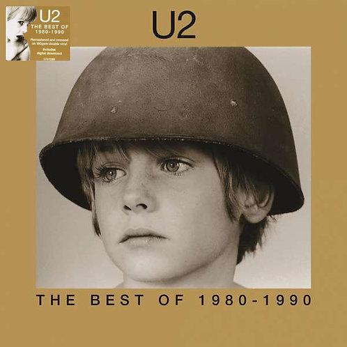 U2 2xLP The Best Of 1980-1990 (Remastered Double Vinyl)