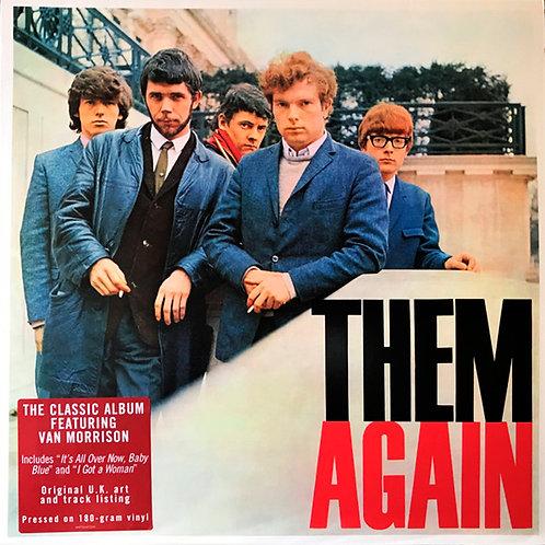 THEM featuring VAN MORRISON LP Them Again
