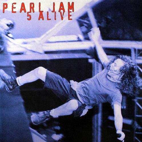 PEARL JAM LP 5 Alive (White Coloured Vinyl)