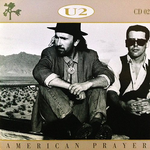 U2 CD American Prayer (Live 1989-2001)