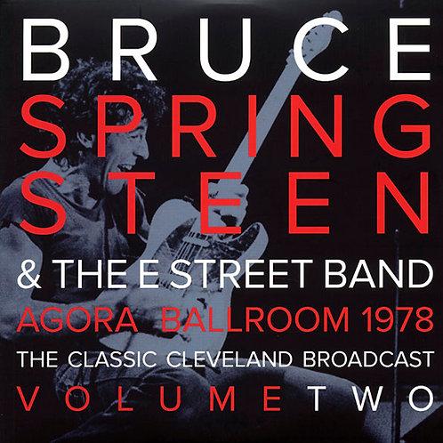 BRUCE SPRINGSTEEN 2xLP Agora Ballroom 1978 Volume Two (Clear Coloured Vinyl)