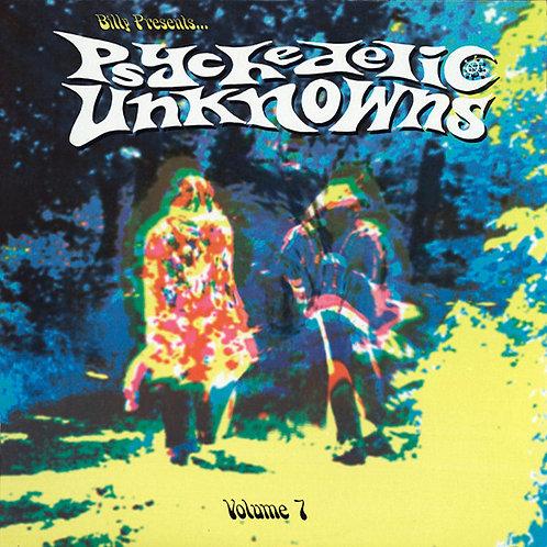 VARIOS LP Psychedelic Unknowns Volume 7