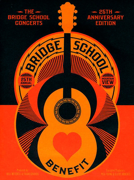 VARIOUS 3xDVD The Bridge School Concerts: 25th Anniversary Edition