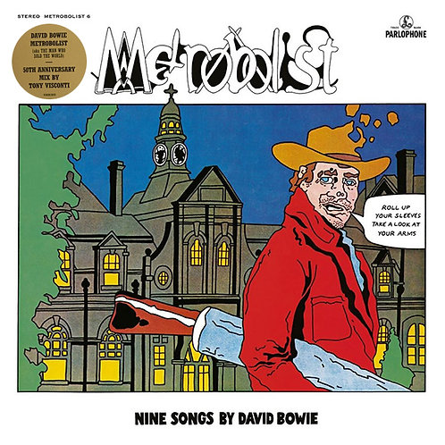 DAVID BOWIE LP Metrobolist (AKA The Man Who Sold The World)