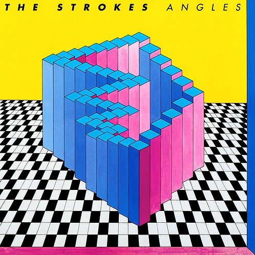 THE STROKES LP Angles (Gatefold Cover)